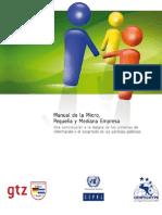 Manual Micro Pequeña Mediana Empresa TIC políticas públicas