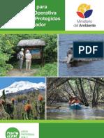 MIN AMBIENTE Manual para la Gestión Operativa de las Áreas Protegidas de Ecuador final