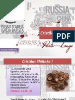 Cristãos Shiitake Passo D'areia