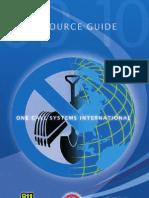 OCSI ResourceGuide One Call Sustem 2009
