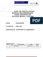 Manual de Instalacion Msan y Dslam Alu Final 30-05-3013