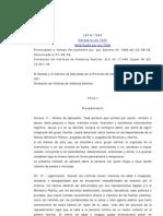 Ley 7403 Violencia Familiar
