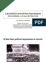 La política económica keynesiana y el caso del New Deal