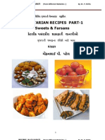 VEG-Gujarati RECIPES (Sweets)