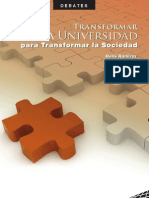 SENPLADES Transformar La Universidad Para Transformar La Sociedad