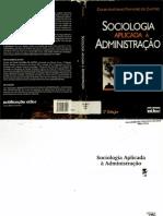 Sociologia Aplicada á Administração - 2 edição