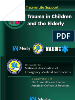 Trauma in Children and Elderly