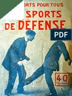 The Sports of Defense - Emile Maitrot 1920
