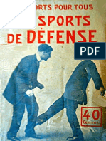 The Sports of Defense - Emile Maitrot 1920
