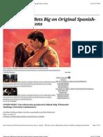 Telemundo_ NBCUniversal Bets Big Original Spanish-Language Shows | Variety