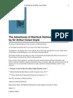 Sherlok Holmes Stories