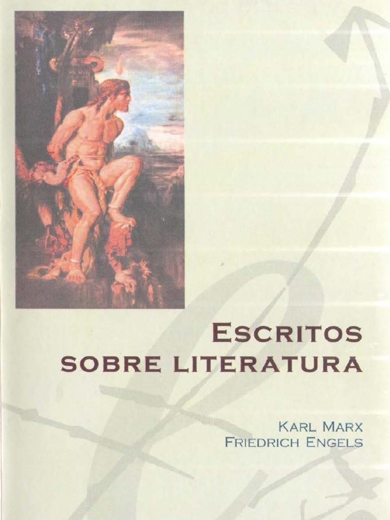 Marx Karl Engels Friedrich - Escritos Sobre Literatura