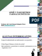 clase 2.ADME y Parámetros Farmacocinéticos