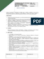 Procedimiento Operativo de Bp - Dispensacion