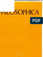 Philosophica Numero 1