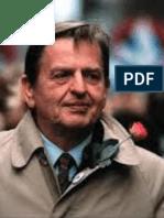 Om Olof Palme av Åke Ortmark