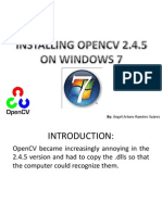 opencv245 - install guide