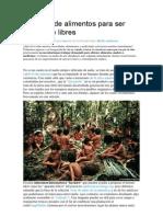 Bosques de Alimentos Para Ser Realmente Libres