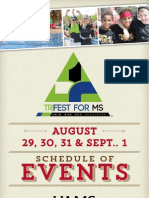 2013 TRIFEST for MS Event Program
