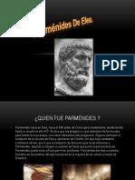 Pensamiento Parmenides
