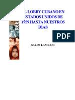 Lamrani, Salim - El Lobby Cubano en Estados Unidos de 1959 Hasta Nuestros Dias