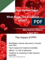 Walters - Postpartum Hemorrhage USAFP (FILEminimizer)