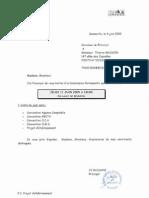 Commission Permanente 2009 Juin Invitation