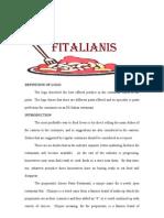 Feasibility Restaurant