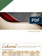 Preisliste Us 2013