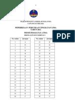 Melaka Trial Akaun SPM 2012 - Jawapan