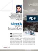 Amitabh Kant's Branding India on NAMASKAR Magazine