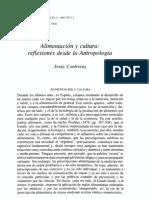 ARQUEOLOGIA ALIMENTACION