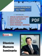 Dioniso Romero Final
