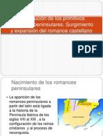 Constitución de los primitivos romances peninsulares - copia