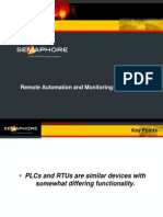 Remote Auomation and Montoring PLC or RTU