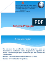 Sistema Projeção UTM