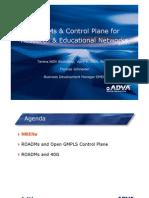 Adva Control Plane 2013