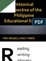 historicalperspectiveofthephilippineeducationalsystem-100220073509-phpapp01