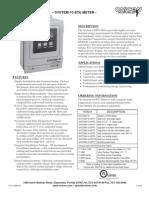 System 10 CatalogSheet