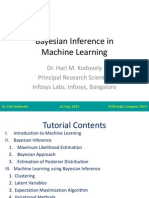 Bayesian Inference in Machine Learning
