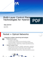 Adva Multi-Layer Control Plane Technologies for Hybrid Networks