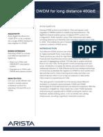 AgilePorts Over DWDM Final