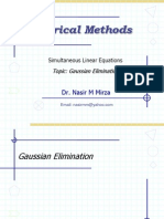 Lec 10-11 Gauss Elimination