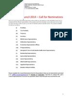 2014 Council Position Descriptions