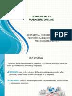 Sesion 13. Marketing on Line