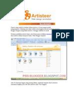 tutorial membuat template  Dengan Artiseer