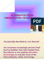 Alternative Food Preservation Tech