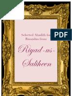Riyad Us Saliheen c 06302012 Selected Ahadith for Ramadan