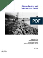 Riprap Design and Construction Guide - Canada 2000 Riprap_guide