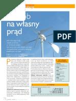 Elektrownia wiatrowa - przydomowa